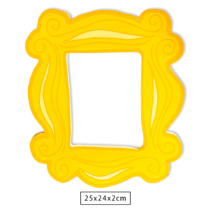 Placa Decorativa WB Peephole Door Frame - Friends