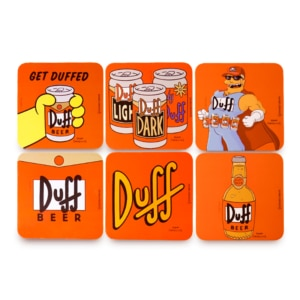 Kit Porta Copos Duff Beer - The Simpsons