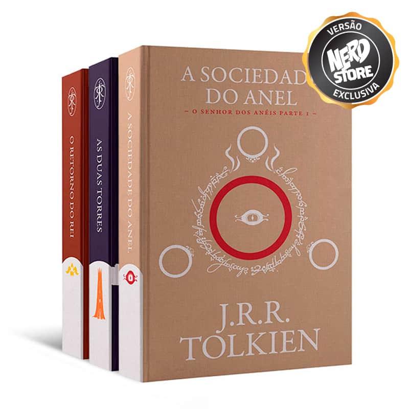 Trilogia de Livros - O Senhor Dos Anéis - Versão Exclusiva Nerdstore