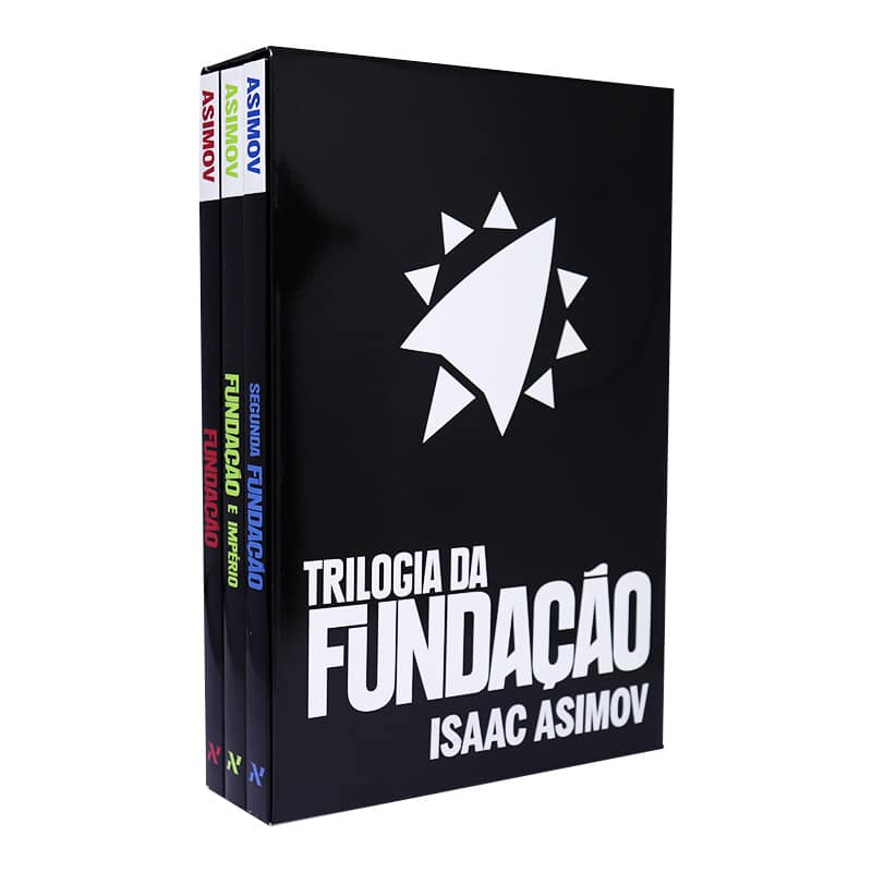 Box Trilogia da Fundação - Isaac Asimov