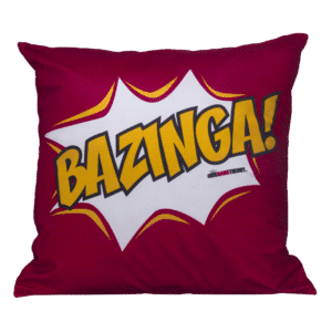 Almofada Bazinga com enchimento - The Big Bang Theory