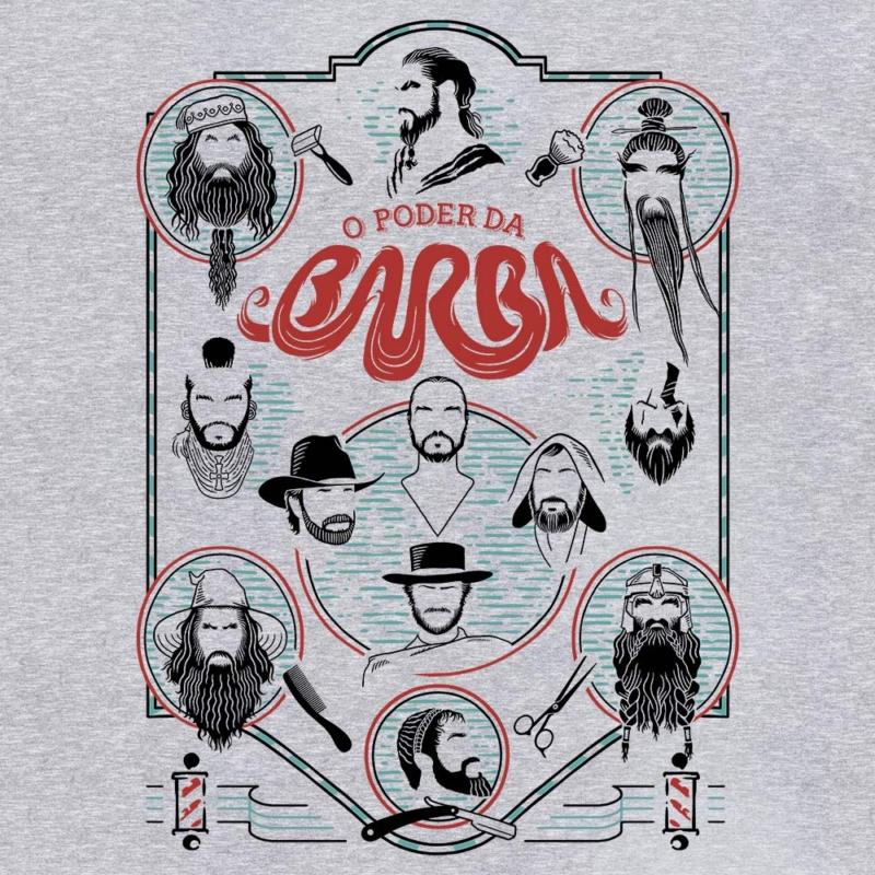 Camiseta O Poder da Barba