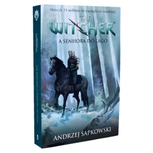 Livro A Senhora do Lago - The Witcher - Volume 7 (Capa Game)