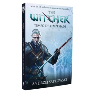 Livro Tempo de Tempestade - The Witcher - Prelúdio (Capa Game)