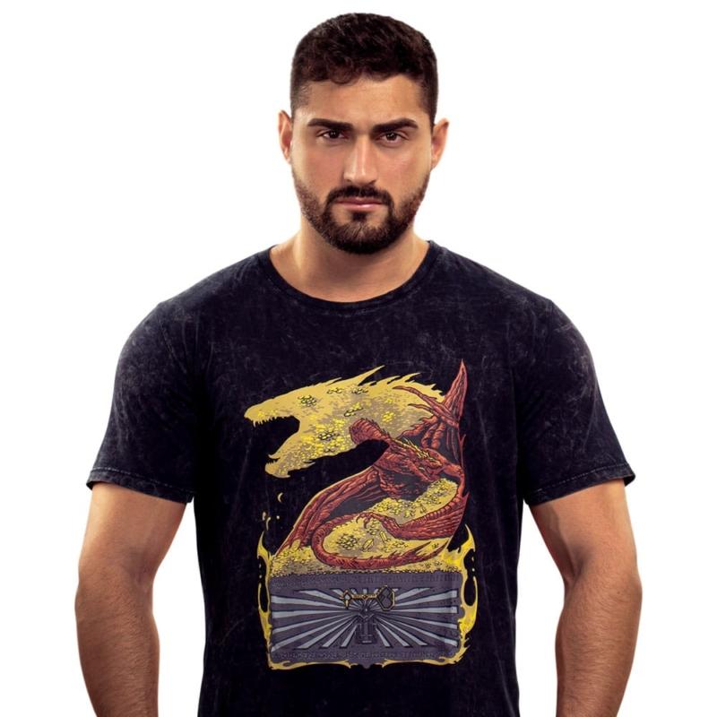 Camiseta Slim Dragon's Treasure