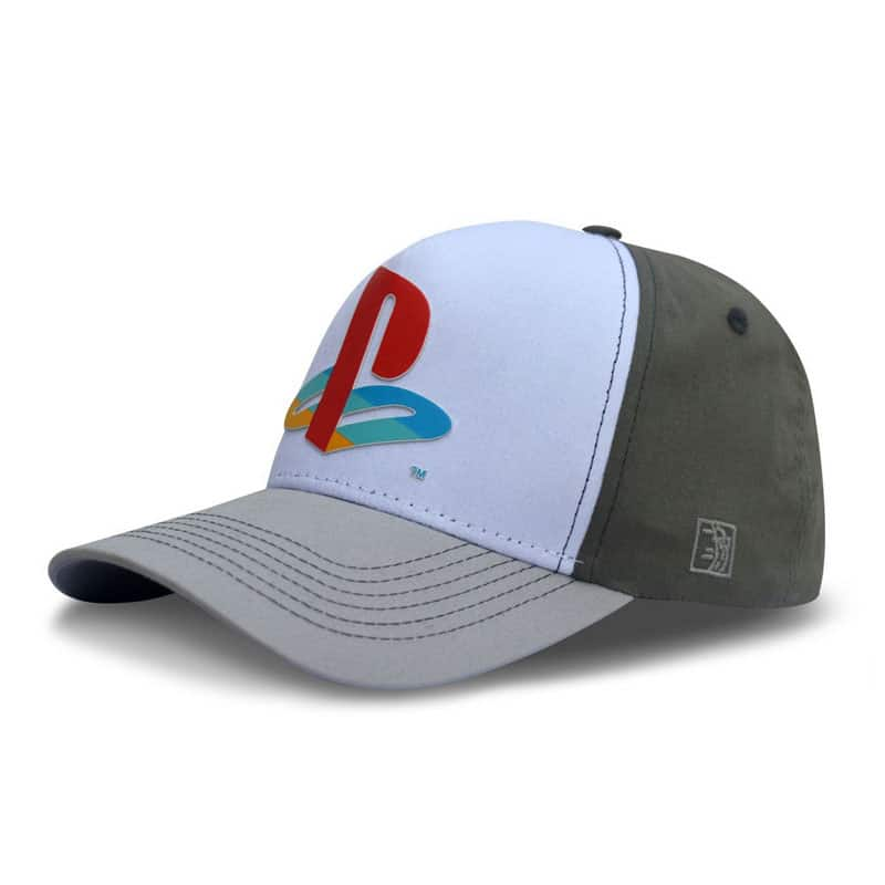 Boné Playstation Classic - Cinza/Branco