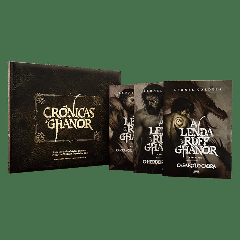 Combo Crônicas de Ghanor + Trilogia Ruff Ghanor