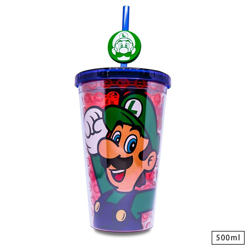 Copo com Canudo Luigi