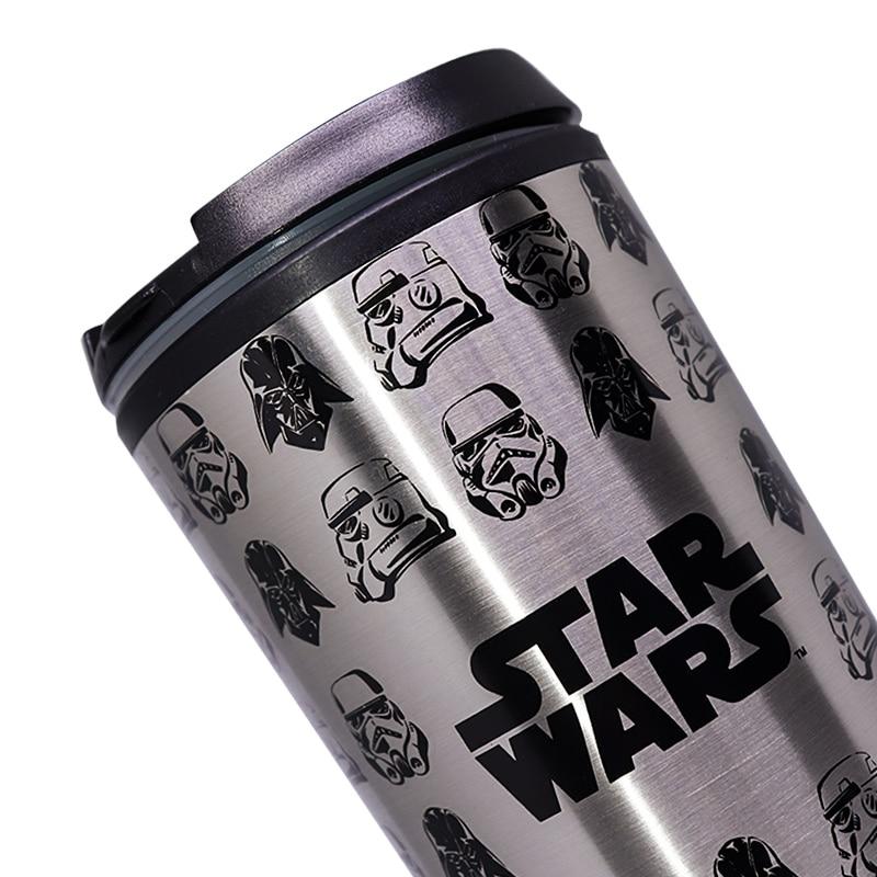 Copo Viagem com Tampa Stormtrooper e Vader - Star Wars