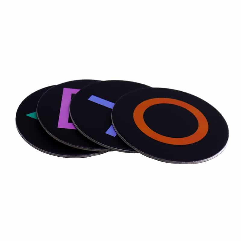 Porta Copos Playstation Botões Símbolos