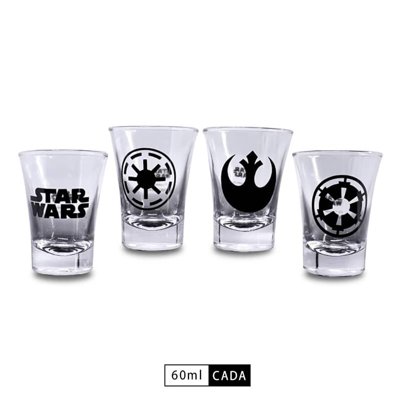 Conjunto Kit Shot c/ 4 Peças - Star Wars