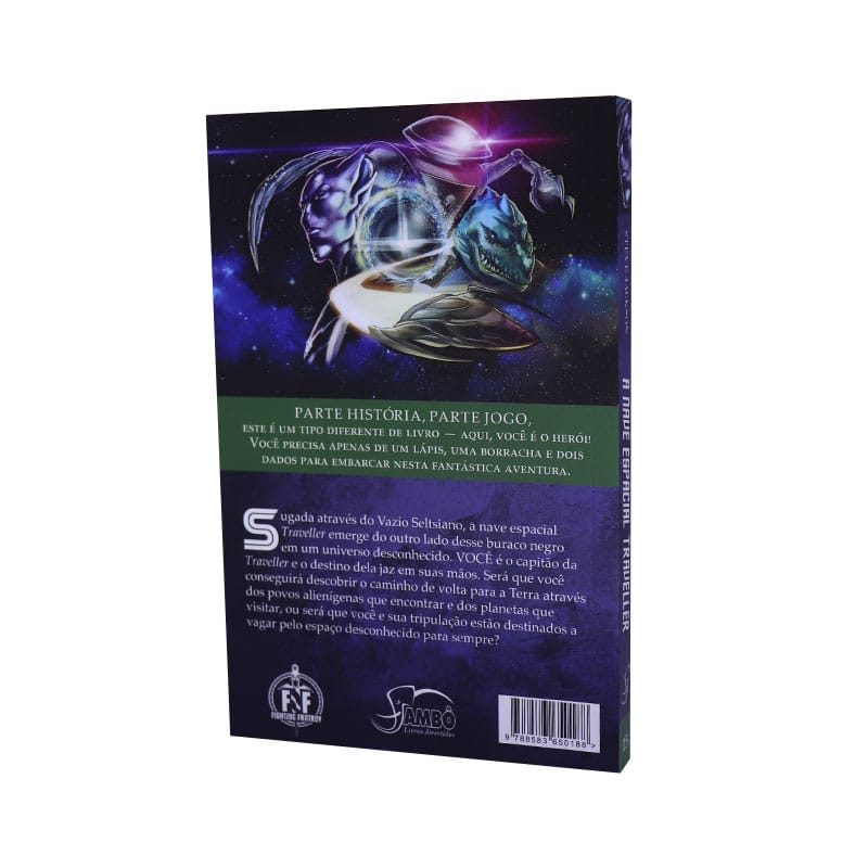Livro FF 15 - Nave Espacial Traveller