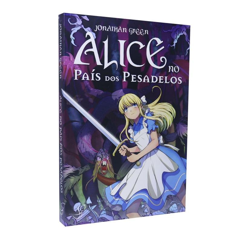 Livro Alice no Pais dos Pesadelos