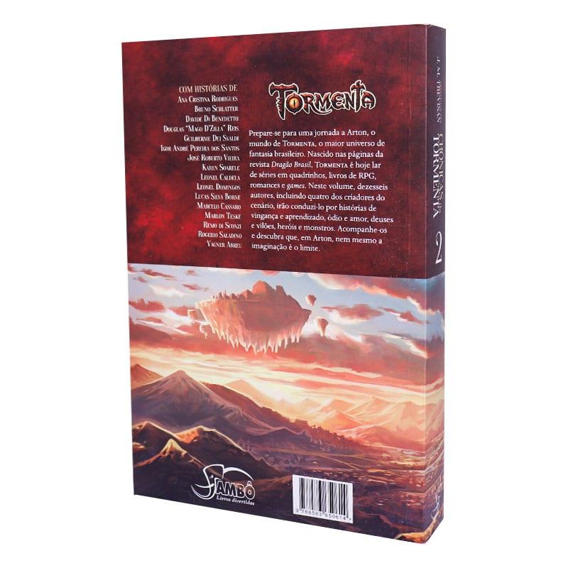 Livro Crônicas da Tormenta - Volume 2