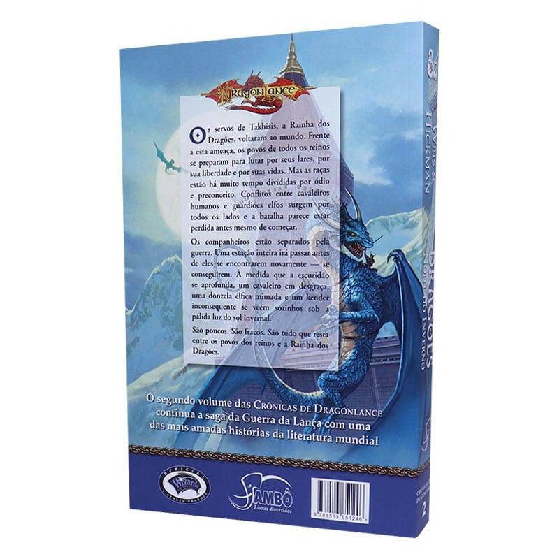 Livro Crônicas de Dragonlance Volume 2- Dragões Noite do Inverno
