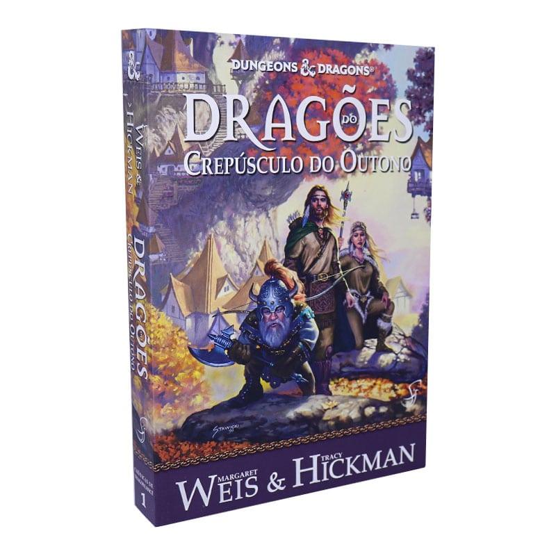 Livro Crônicas de Dragonlance Volume 1 — Dragões do Crepúsculo do Outono