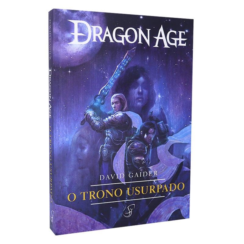 Livro Dragon Age - O Trono Usurpado - David Gaider