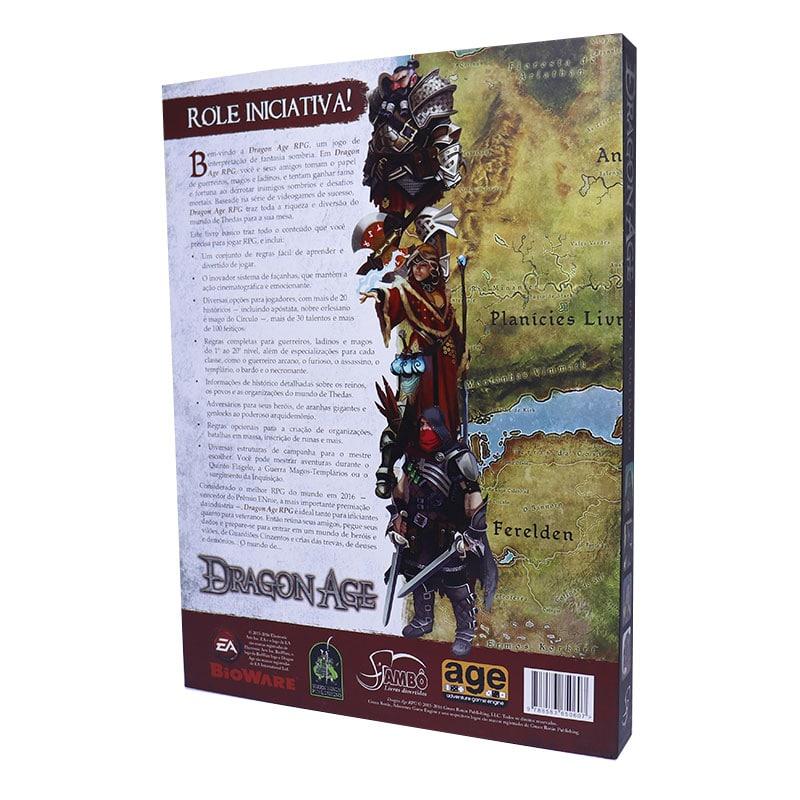 Livro Dragon Age RPG