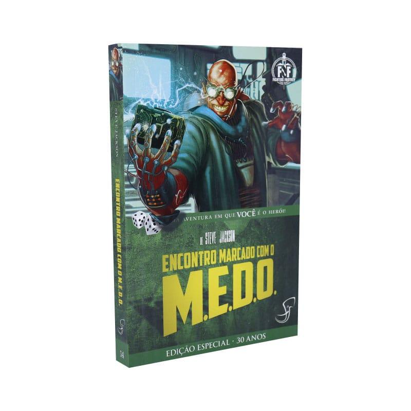 Livro FF 14 - Encontro Marcado com o M.E.D.O.