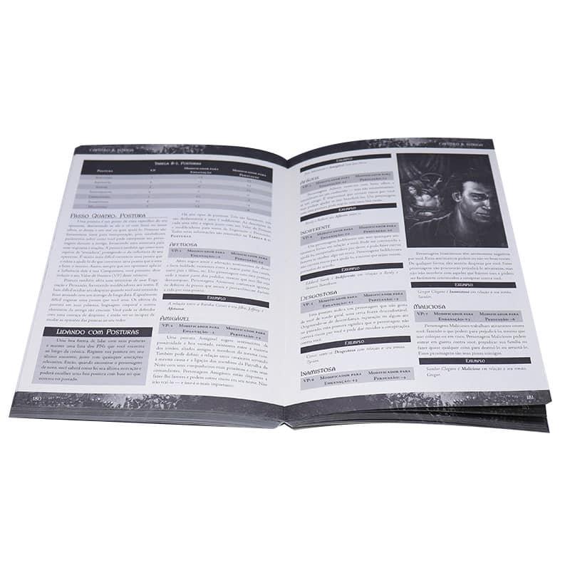 Livro Guerra dos Tronos RPG - As Crônicas de Gelo e Fogo - Robert J. Schwalb