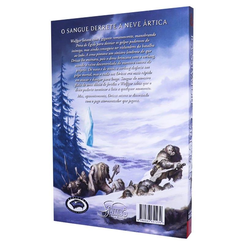 Livro A Lenda de Drizzt . O Fragmento de Cristal - Volume 4