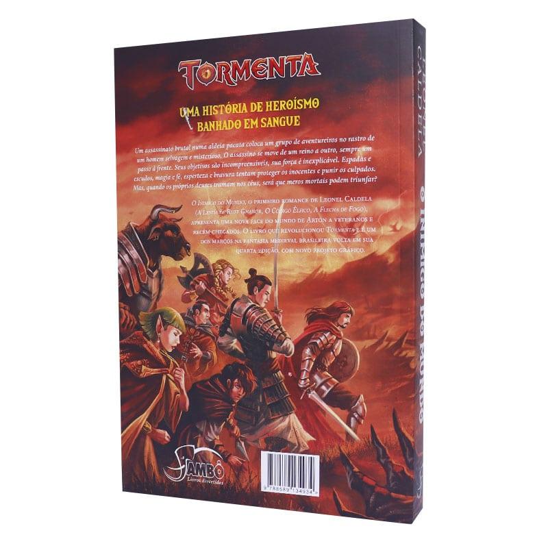 Livro Trilogia da Tormenta: Vol. 1 - O Inimigo do Mundo - Leonel Caldela