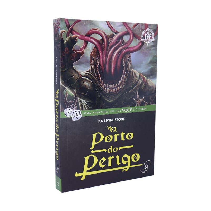 Livro FF 22 - O Porto do Perigo - Ian Livingstone