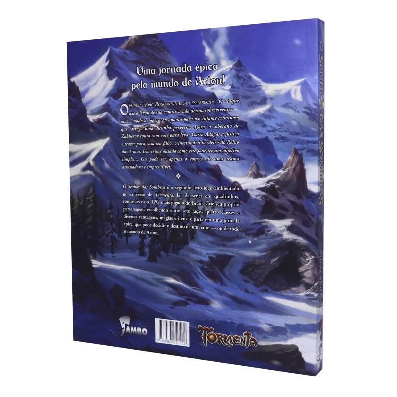 Livro O Senhor das Sombras - Tormenta - Athos Beuren