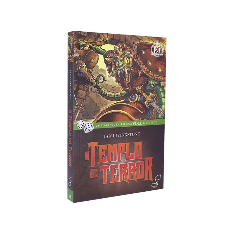 Livro FF 18 - O Templo do Terror