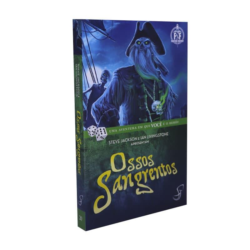 Livro FF 20 - Ossos Sangrentos - Jonathan Green