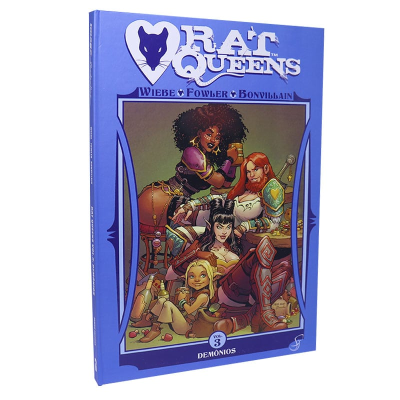 Livro Rat Queens: Volume 3 - Demônios - Kurtis J. Wiebe, Tess Fowler e Tamra Bonvillain