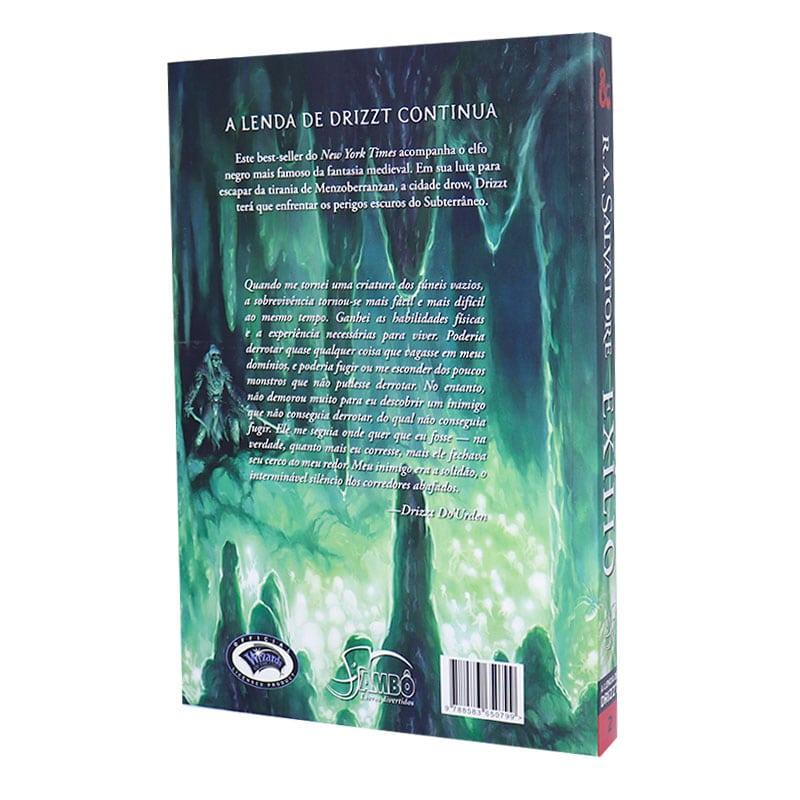 Livro A Lenda de Drizzt. Exílio - Volume 2