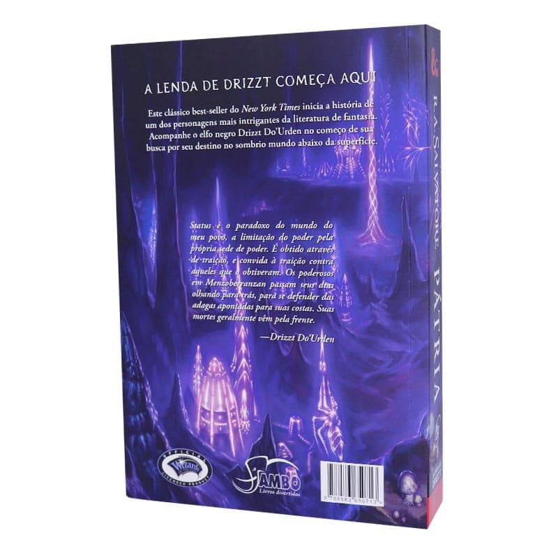 Livro A Lenda de Drizzt. Pátria - Volume 1
