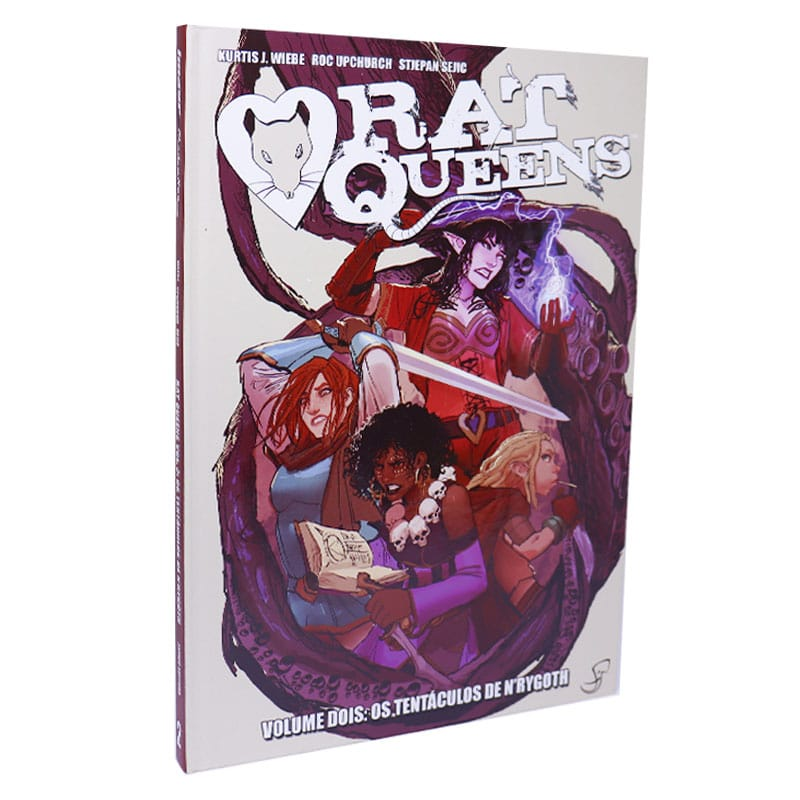 Livro Rat Queens: Volume 2 - Os Tentáculos de N'Rygoth - Kurtis J. Wiebe, Roc Upchurch e Stjepan Sejic