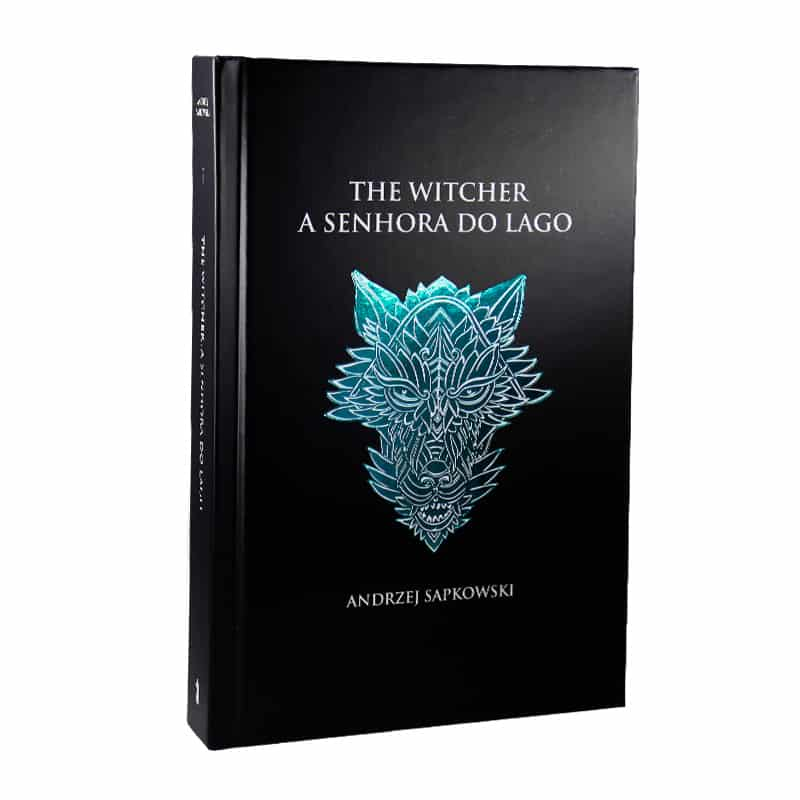 Livro A Senhora do Lago - The Witcher - A Saga do Bruxo Geralt de Rívia