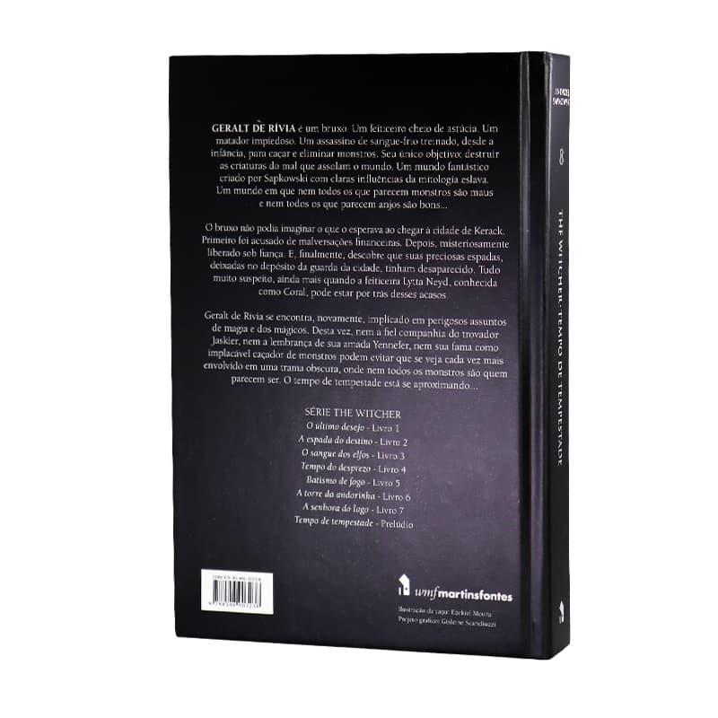 Livro Tempo de Tempestade - The Witcher - A Saga do Bruxo Geralt de Rívia - Volume 8