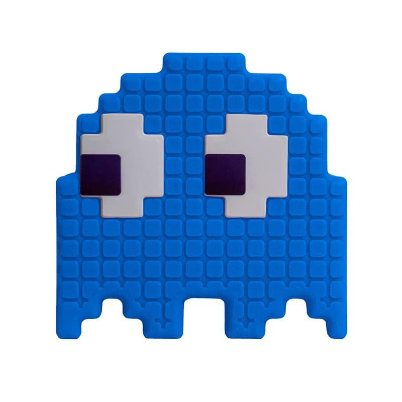 Luminária Fantasma Pac Man - Azul
