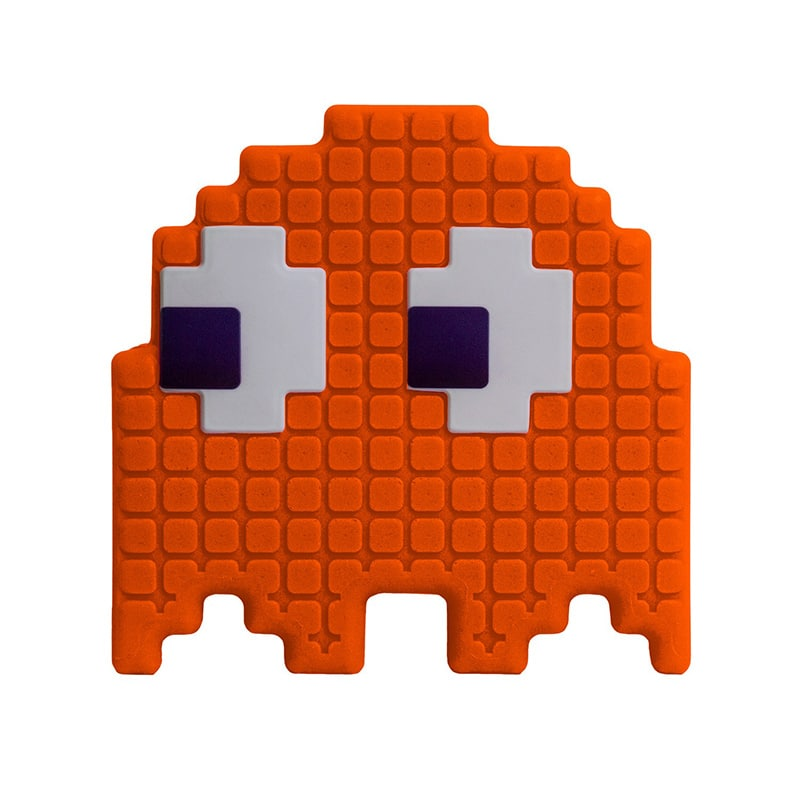 Luminária Fantasma Pac Man - Laranja