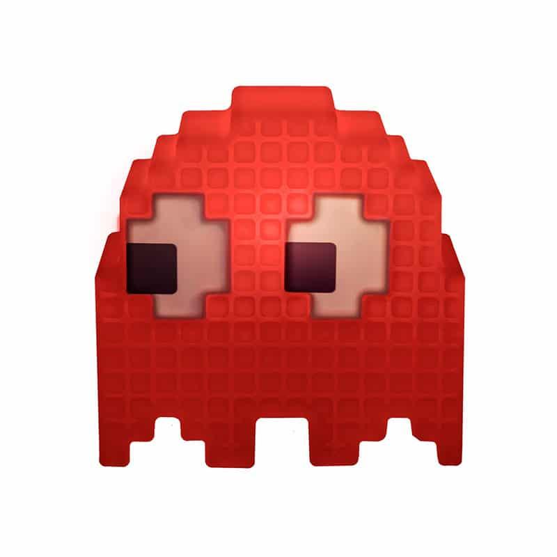 Luminária Fantasma Pac Man - Vermelho