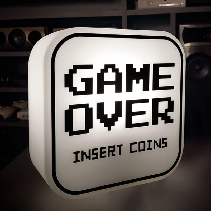 Luminária Game Over