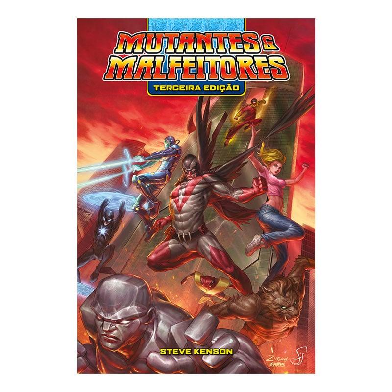 Livro Mutantes e Malfeitores - 3ª Edição