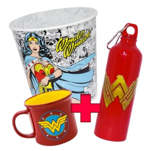 Combo Super Heroína Wonder Woman - Dc Comics