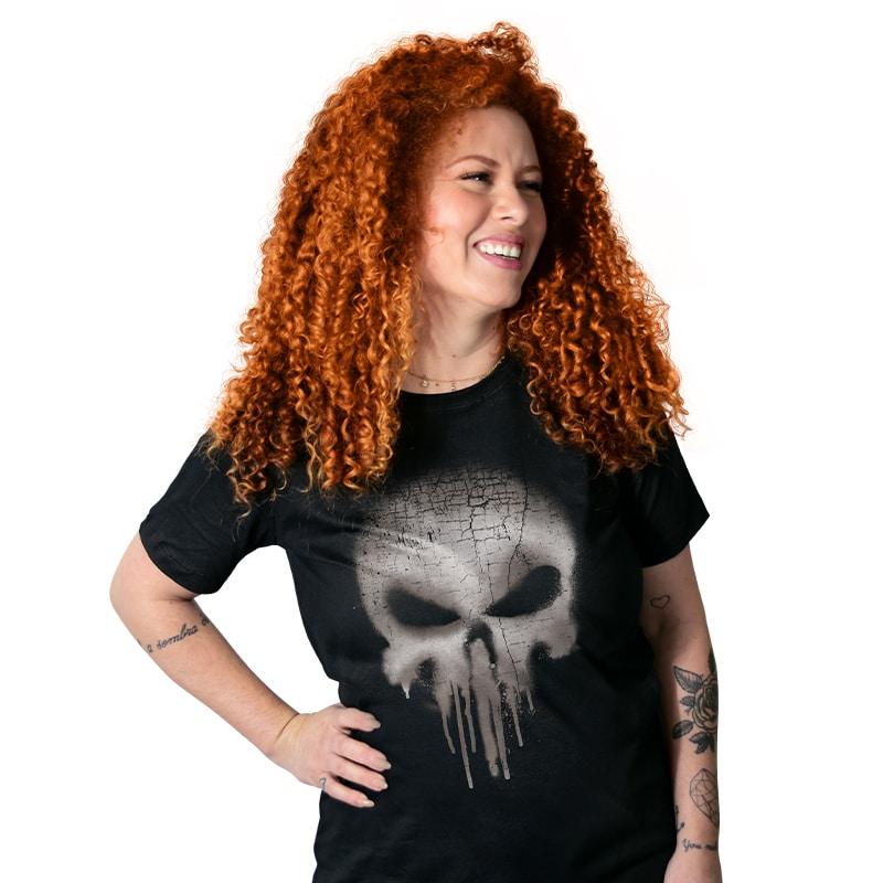 Camiseta Psycho Skull