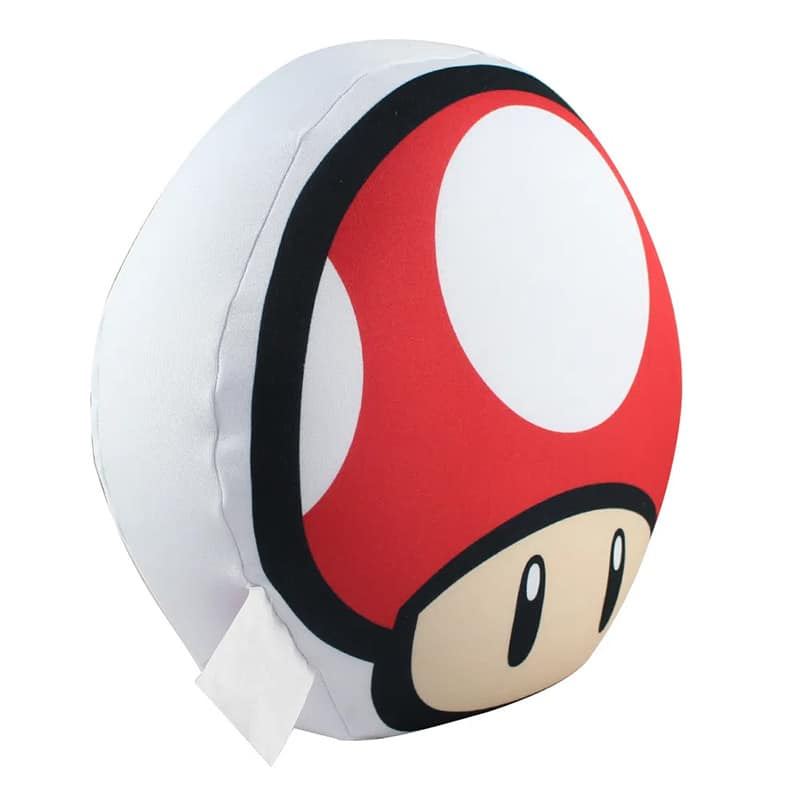 Almofada Formato Cogumelo UP Vermelha