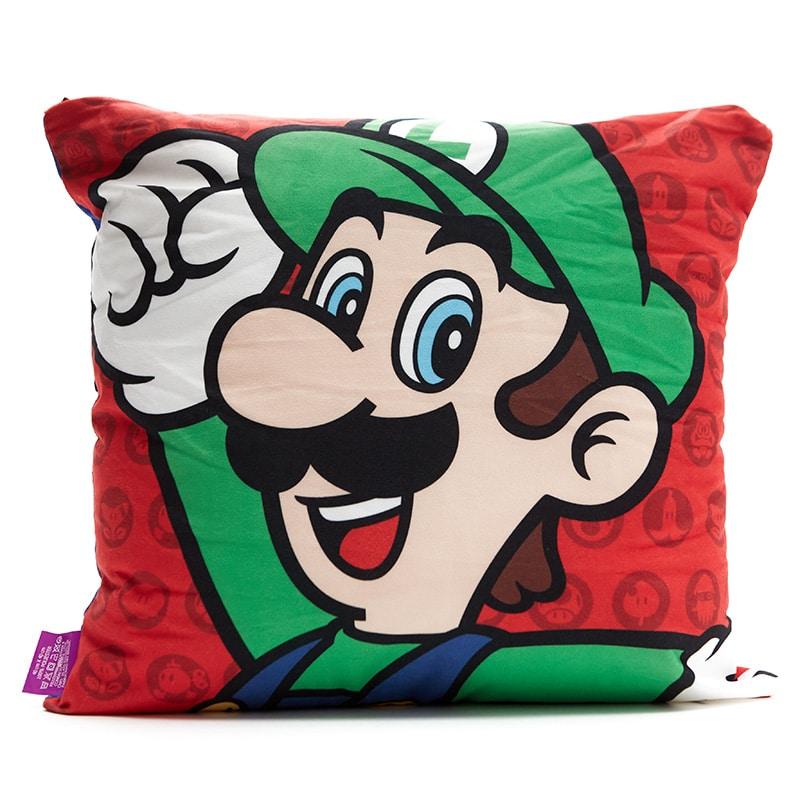 Almofada de Veludo Super Mario e Luigi