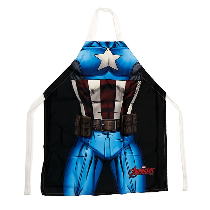 Avental de Cozinha Capitão América - Marvel
