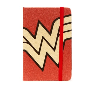 Caderneta Wonder Woman Core Gold Logo