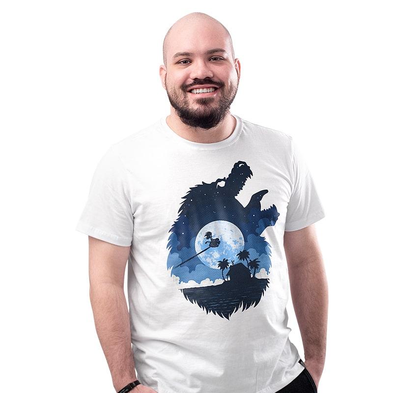 Camiseta Dragon Moon