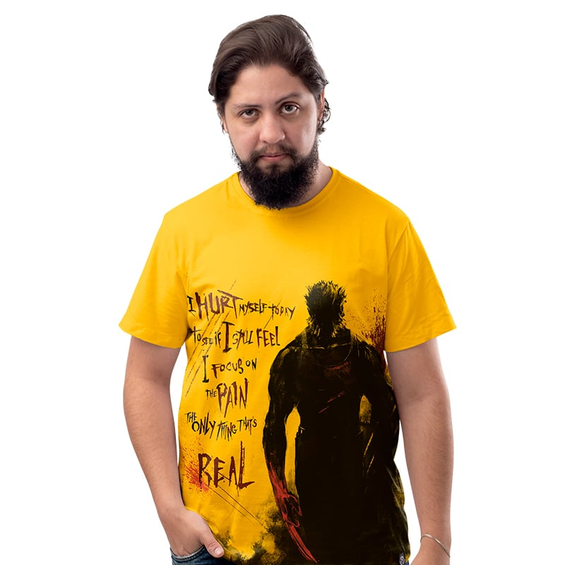 Camiseta I Hurt Myself