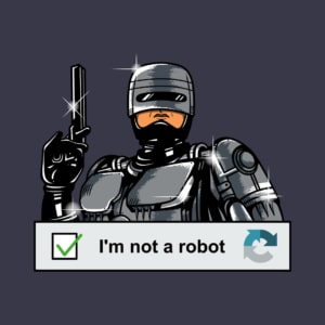 Camiseta I'm Not a Robot